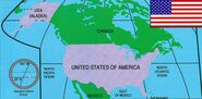 United States of America from Marvel Atlas Vol 1 2 0001