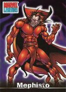Mephisto (Earth-616) from Marvel Legends (Trading Cards) 0001
