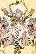 Yahweh (Earth-616) from Howard the Duck Vol 3 6 001