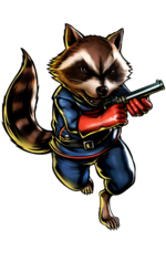 Rocket Raccoon (Earth-30847) from Marvel vs. Capcom 3 Fate of Two Worlds 0001