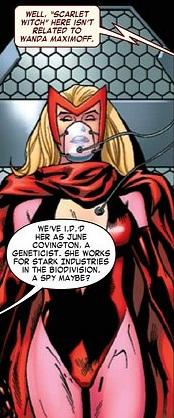 June Covington (Earth-616) from Dark Avengers Vol 1 184