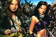 Jessica Jones (Earth-616) and Katherine Bishop (Earth-616) 001