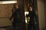 Barbara Morse (Earth-199999) and Melinda May (Earth-199999) from Marvel's Agents of S.H.I.E.L.D. Season 3 6 001