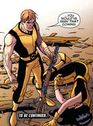Eric Gitter (Earth-616) and Ruth Aldine (Earth-616) from Young X-Men Vol 1 2 0001