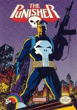Punisher 1990 LJN video game cover
