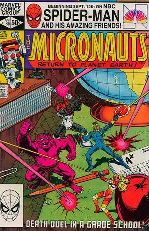 Micronauts Vol 1 36