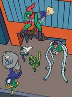 Sinister Six (Earth-3015) from Web Warriors Vol 1 1 001