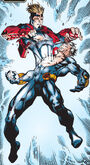 Alexander Summers (Earth-616) and Alexander Summers (Earth-1298) from Mutant X Vol 1 1 001