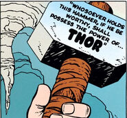 Mjolnir from Journey into Mystery Vol 1 83 0001