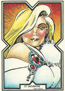 Opal Luna Saturnyne (Earth-9) from Excalibur Trading Cards 0001