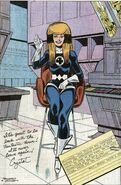 Crystalia Amaquelin (Earth-616) second Fantastic Four uniform from Fantastic Four Annual Vol 1 21