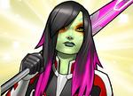 Gamora Zen Whoberi Ben Titan (Earth-TRN562) from Marvel Avengers Academy 002