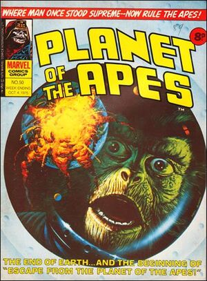 Planet of the Apes (UK) Vol 1 50