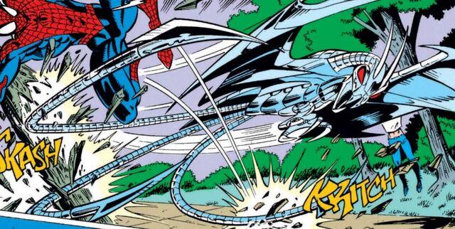 File:Spider-Slayer Mark XI from Amazing Spider-Man Vol 1 368 001.jpg
