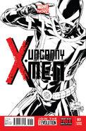 Uncanny X-Men Vol 3 1 Quesada Sketch Variant