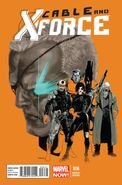 Cable and X-Force Vol 1 6 Andrasofsky Variant