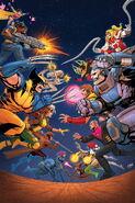 X-Men '92 Vol 2 1 Textless