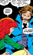 Phoenix Force as Jean Grey and Jason Wyngarde (Earth-616) from X-Men Vol 1 122 0001