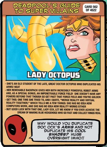 File:Carolyn Trainer (Earth-616) on Deadpool's Guide to Super Villains Cards from Unbeatable Squirrel Girl Beats Up the Marvel Universe! Vol 1 1.jpg