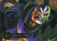 En Sabah Nur (Earth-616) from Marvel Annual Flair Trading Cards 1995 PowerBlast Subset 0001