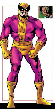 Georges Batroc (Earth-616) from Official Handbook of the Marvel Universe Vol 1 2 0001