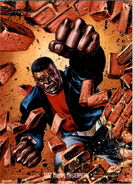 Luke Cage (Earth-616) from Marvel Masterpieces Trading Cards 1992 0001