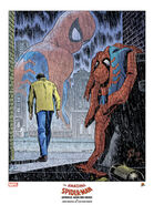 Spider-Man No More John Romita Sr. Lithograph