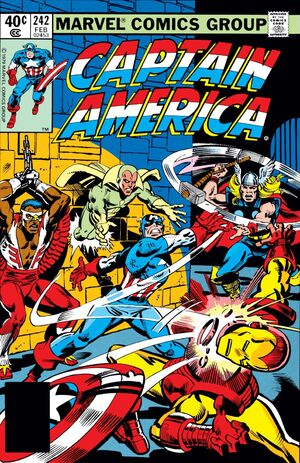 Captain America Vol 1 242