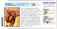 Marvel Encyclopedia Vol 1 X-Men page 52 Calvin Rankin (Earth-616)