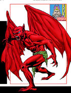Khufor (Earth-616) from Vampires The Marvel Undead Vol 1 1 0001
