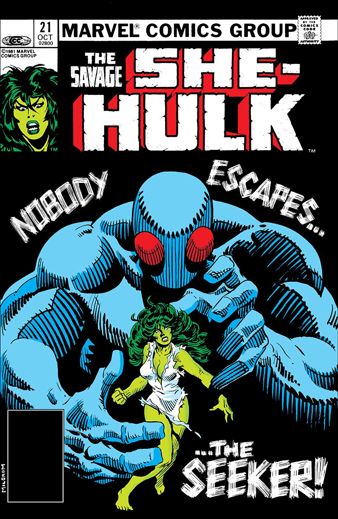 Savage She-Hulk Vol 1 21