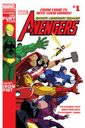 Marvel Universe Avengers - Earth's Mightiest Heroes Vol 1 1