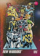 New Warriors (Earth-616) from Marvel Universe Cards Series III 0001
