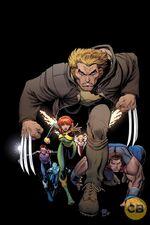 X-Men Blue Vol 1 5 Textless