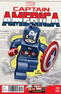 Captain America Vol 7 12 LEGO Variant