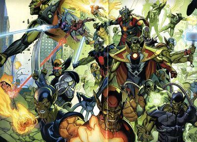 Super-Skrulls Wave Beta