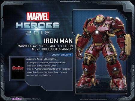 Costume ironman hulkbuster AoU
