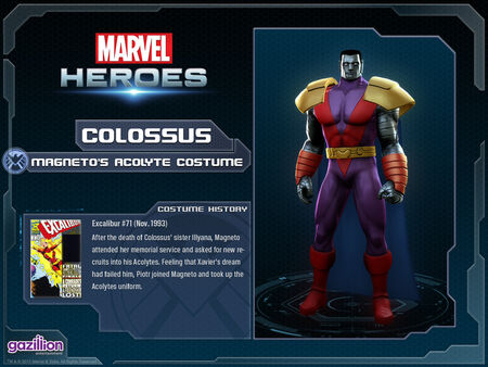 Costume colossus magnetosacolyte