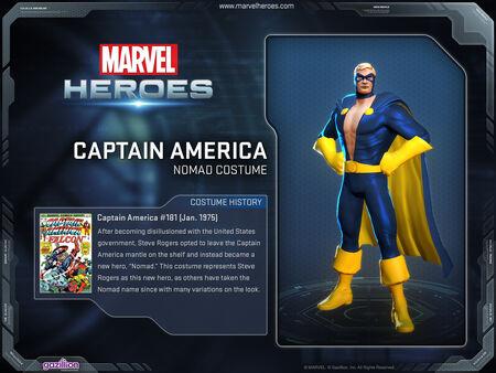 Costume captainamerica nomad