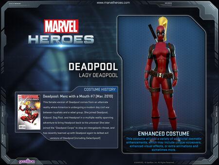 Costume ladydeadpool