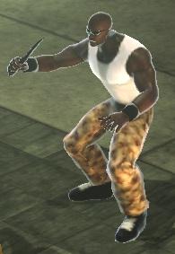 Character - Mugger (Camouflage Pants)