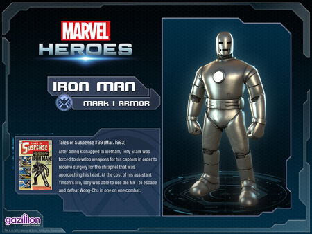 Costume ironman mark1