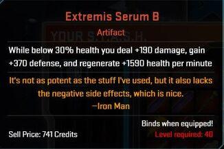 Extremis Serum B