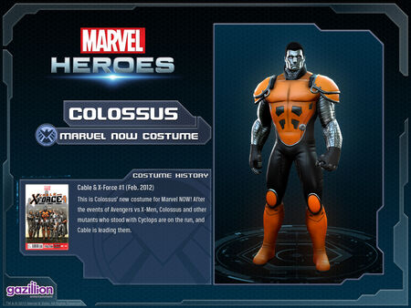 Costume colossus marvelnow