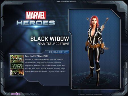 Costume blackwidow fearitself