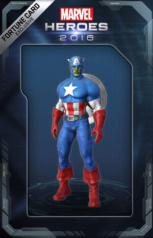 Costume CaptainAmerica Skrull