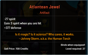 Atlantean jewel