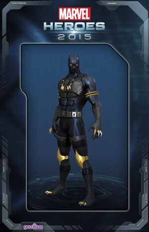 Costume blackpanther manwofeargold