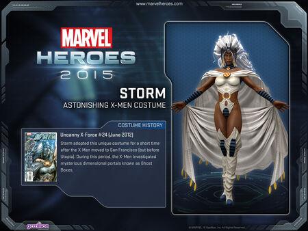 Costume storm AstonishingXmen