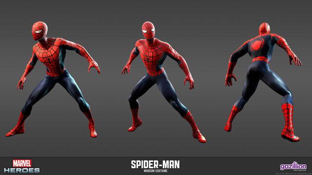 File:Spiderman Modern Model.jpg